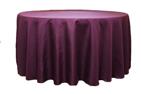 Round Tablecloth 10 Seater Table