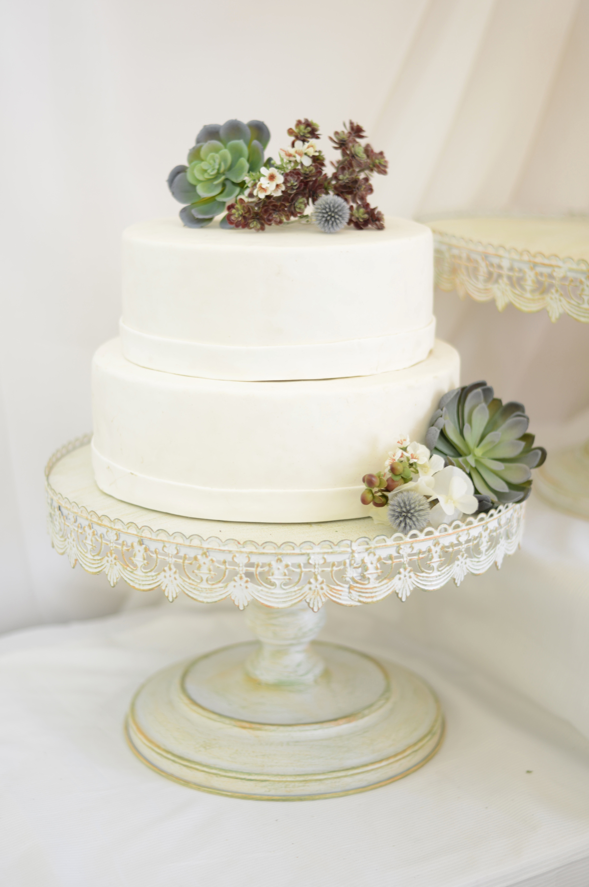 wedding cake stands vintage metal cake stand 25674